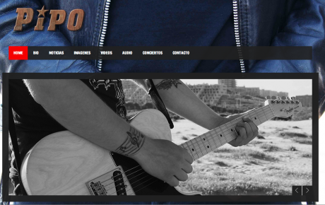 Web de pipo rock band